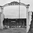 New 5x7 Civil War Photo: 3rd Massachusetts at the Gate of Fort Totten