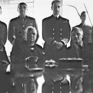 New 5x7 World War II Photo: Allied Leaders at Conference in North Africa