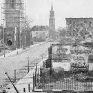 New 5x7 Civil War Photo: Meeting Street in Charleston, South Carolina 1865