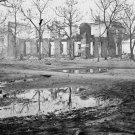 New 5x7 Civil War Photo: Ruins of Homes in Savannah, Georgia