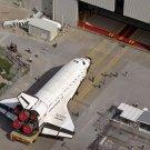 New NASA 5x7 Photo: Space Shuttle Atlantis Preparing for Mission