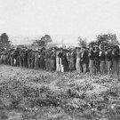 New 5x7 Civil War Photo: Confederate Prisoners at Fairfax Court House, Virginia