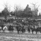New 5x7 Civil War Photo: Union Artillery Unit with Cannons and Horses