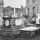 New 5x7 Civil War Photo: Graveyard of the Ruined Circular Church in Charleston