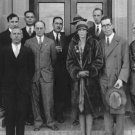 New 5x7 Photo: Amelia Earhart and others at the Langley Research Building