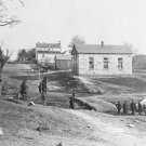 New 5x7 Civil War Photo: Federal Soldiers at Stone Church in Centrville