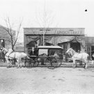 New 5x7 Photo: Funeral Hearse Carriage of C.W. Franklin of Chattanooga, 1899