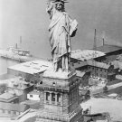 New 5x7 Photo: Statue of Liberty From an Army Plane