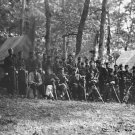New 5x7 Civil War Photo: Officers of 50th Pennsylvania Infantry at Gettysburg