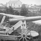 New 5x7 Civil War Photo: Confederate Naval Gun in Front of Nelson Church