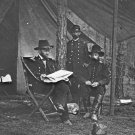 New 5x7 Civil War Photo: Union - Federal General Ulysses S. Grant in Camp