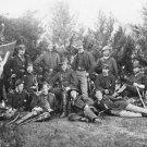 New 5x7 Civil War Photo: Union General Robert Tyler & Artillery Reserve Staff