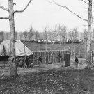 New 5x7 Civil War Photo: Sutler's Hut and Stockade of 50th New York Engineers
