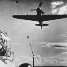 New 5x7 World War II Photo: Royal Air Force Hurricane Searching for Downed Plane