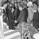 New 5x7 Photo: Nixon at Funeral Ceremony for President Lyndon B. Johnson