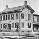 New 4x6 Photo: President Abraham Lincoln's Home in Springfield, Illinois