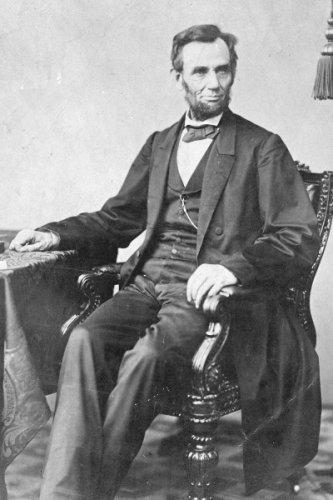 New 4x6 Civil War Photo: President Abraham Lincoln Prior to Gettysburg Address