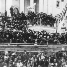 New 4x6 Photo: President Abraham Lincoln Gives 2nd Inaugural Address, 1865