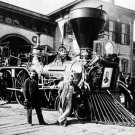 "New 4x6 Photo: Engine ""Nashville"" of the Funeral Train for Abraham Lincoln"