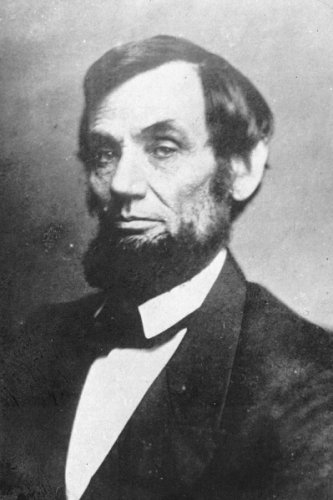 New 4x6 Photo: 16th United States President Abraham Lincoln in 1863