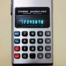 Vintage CASIO pocket-mini Calculator