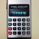 Vintage CASIO pocket-mini Calculator