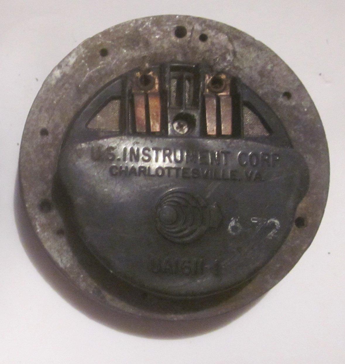 "U.S. Instrument Corp. (USI) ""Deck Talkers"" UA-1611-1 (headset)"