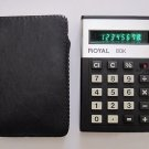 Vintage ROYAL 80K UA119 Calculator - Made in Japan 70's