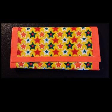duct tape women's wallet Stars