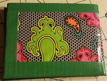 Duct tape bi-fold wallet Color lace