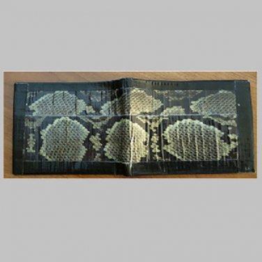 Duct tape bi-fold wallet Snake skin