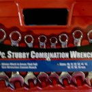 New MIT 10-Pc. Stubby Combination Wrench Set MM #1919