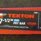 """New Tekton MIT 7 1/2"""" Utility Pry Bar # 3305"""
