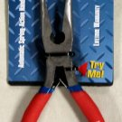 "MIT 8"" Flex-Grip Bent Nose Pliers #35075"