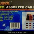 Cal-Hawk 120-Pc. Assorted Car Fuse Set #CAPCF