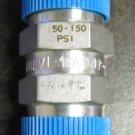 Nupro (Swagelok) Stainless Relief Valve 1/2 NPT 50-150 #TADK070511