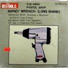 "BesTools 1/2"" Pistol Grip Impact Wrench Long Shank #AIW-12L"