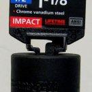 "New MIT 1/2"" Dr. x 1-1/8"" SAE Deep Impact Socket #47796"