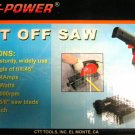 "Detroit Power 7"" Cut Off Saw #CZCOS7"