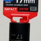"MIT 1/2"" Dr. x 17MM Deep Impact Socket #47808"