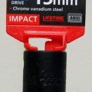 "MIT 1/2"" Dr. x 15MM Deep Impact Socket #47806"