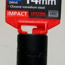 "MIT 1/2"" Dr. x 14MM Deep Impact Socket #47805"