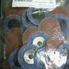 "New Professional Abrasives 2"" Roll Lock 50-Pc. A/O 36G"