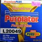 New Purolator Premium Plus Oil Filter #L20049