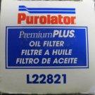 New Purolator Premium Plus Oil Filter #L22821