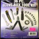 New WeatherHandler 36-Pc. Glove Box Tool Kit