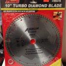 """NEW ATE Professional 10"""" Turbo Diamond Blade #90314"""