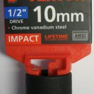 "New MIT 1/2"" Dr. x 10MM Shallow Impact Socket #47765"