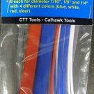 New Cal-Hawk 24-Pc. Heat Shrinkable Wire Wrap Set