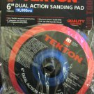 "New MIT 6"" Dual Action Sanding Pad 150mm 10,000 RPM #4295"